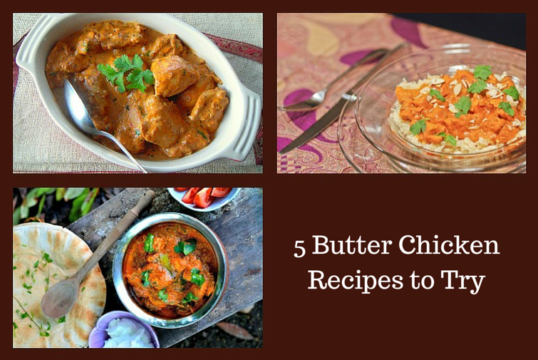 5 buter chicken recipes feature