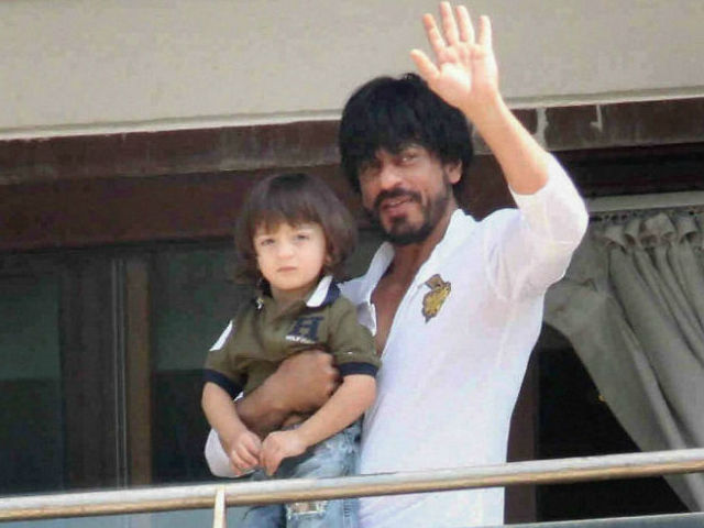 SRK youngest son