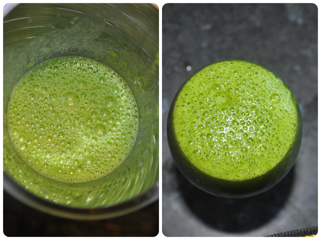 Green Smoothie from The Desi Dossier